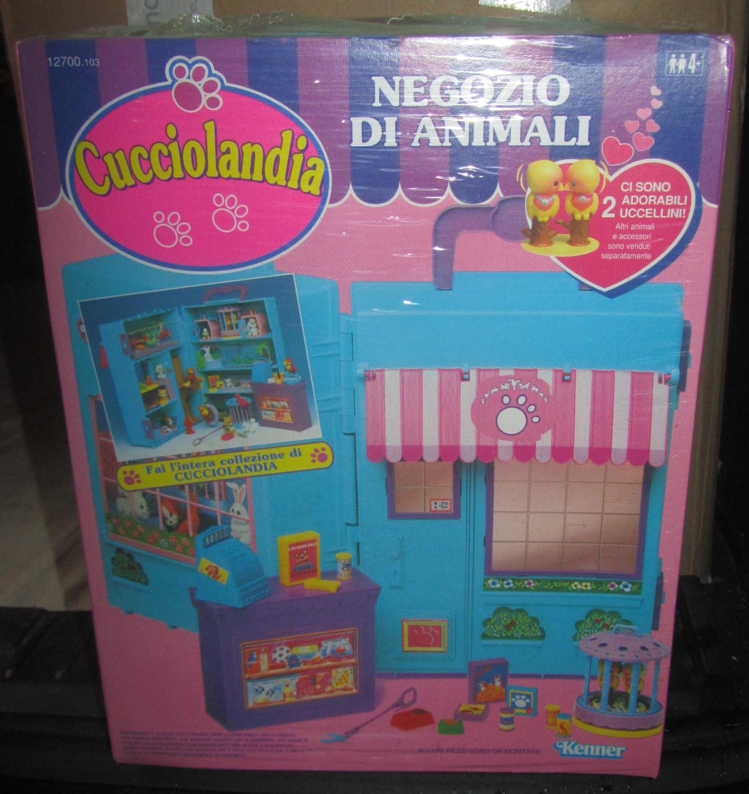 CUCCIOLANDIA NEGOZIO DI ANIMALI KENNER 1993 NEW FONDO MAGAZZINO SPESE GRATIS
