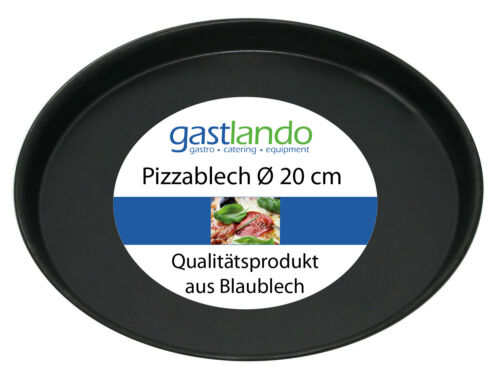 30 Stück Pizzablech Backform Pizzaform Profiqualität rund Ø 20 cm Gastlando