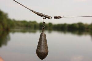 KORDA-NEW-Distance-Casting-Swivel-Lead-Carp-Fishing-Coated-Leads-X-5-ALL-SIZES