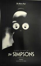 Olly Moss – The Simpsons Poster Print Mondo Artist