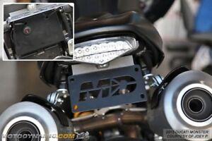 Fender-Eliminator-Ducati-Monster-796-1100-EVO-2009-2014-LED-Lite-Life-Warranty