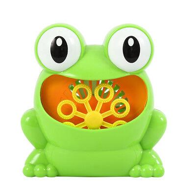 Baby Bubble Machine Frog Crab Blower Maker Automatic Kids Bath Music Shower es