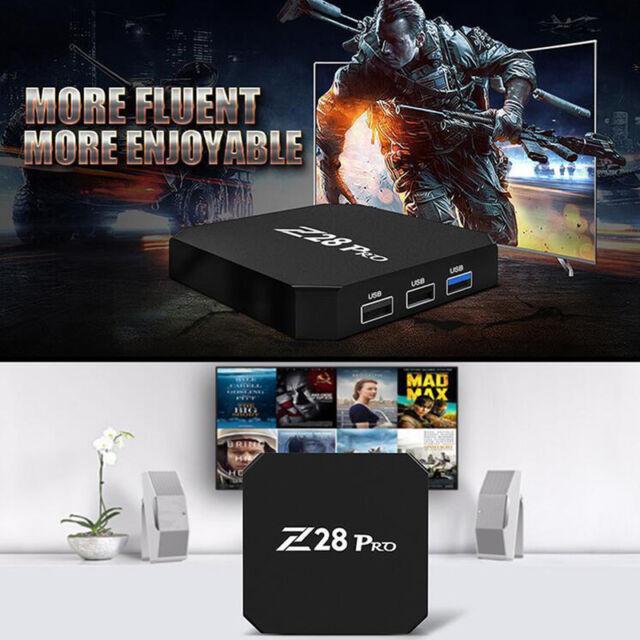 Z28 PRO RK3328 Smart TV Box Android 7.1 2G/16G Quad Core 4K,1080P VP9 H.265 WiFi