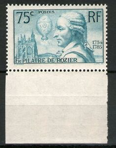 TIMBRE-N-313-NEUF-PILATRE-DE-ROZIER-BDF-GOMME-ORIGINALE-TB