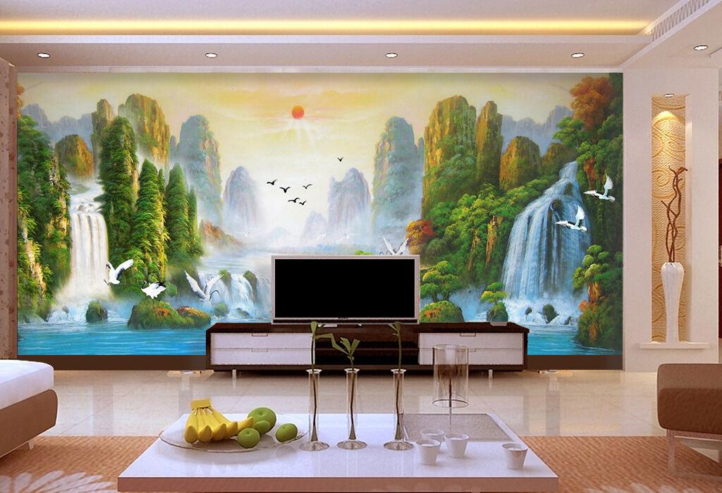3D Nature Landscape 816 WallPaper Murals Wall Print Decal Wall Deco AJ WALLPAPER