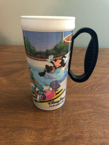 Disney World Parks Whirley Warren Insulated Travel Mug Souvenir No Lid /& Handle