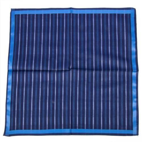 43cm*43cm Classic Pattern Plaid Stripe Men Pure Cotton Square Handkerchief