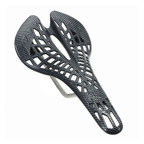 Sella sellino antiprostata leggero in fibra di carbonio per mtb bici bicicletta