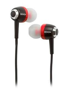 Denon-AH-C100RD-Urban-Raver-In-Ear-Headphone-with-Inline-Remote-and-Mic-Red