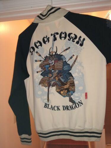 Vintage RARE! Dogtown Shogun Skull Embroidered Suk