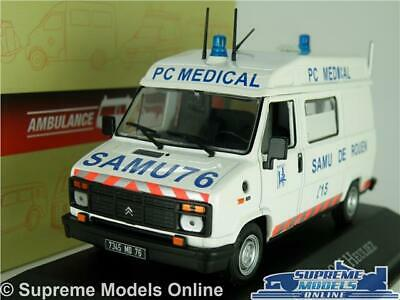 1:43 Atlas Ambulance Collection Citroen C25 Heuliez PC Medical 1984