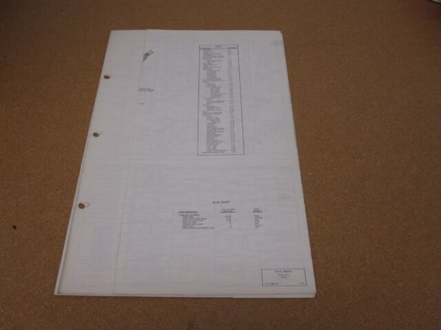 1972 Ford Pinto Wiring Diagram Sheet Schematics Service
