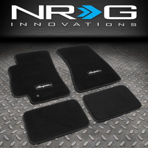 NRG INNOVATIONS FMR-300 FOR 93-98 TOYOTA SUPRA FLOOR MAT LINER PADS SET CARPET