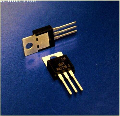 Floating 1.2-33V LM350T q9 2 pc LM350 Adjustable 3A Voltage Regulator
