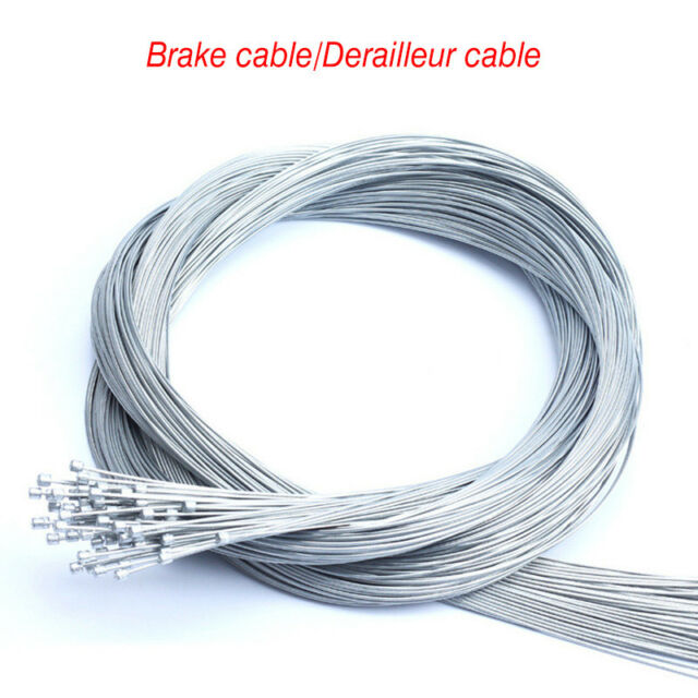 3PCS Bike Shift Brake Cables Derailleur Front Rear Inner Cable Stainless Steel