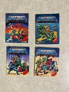Vintage MOTU Masters of the Universe He-Man 1981 SERIES 1 Comic Books LOT of 4