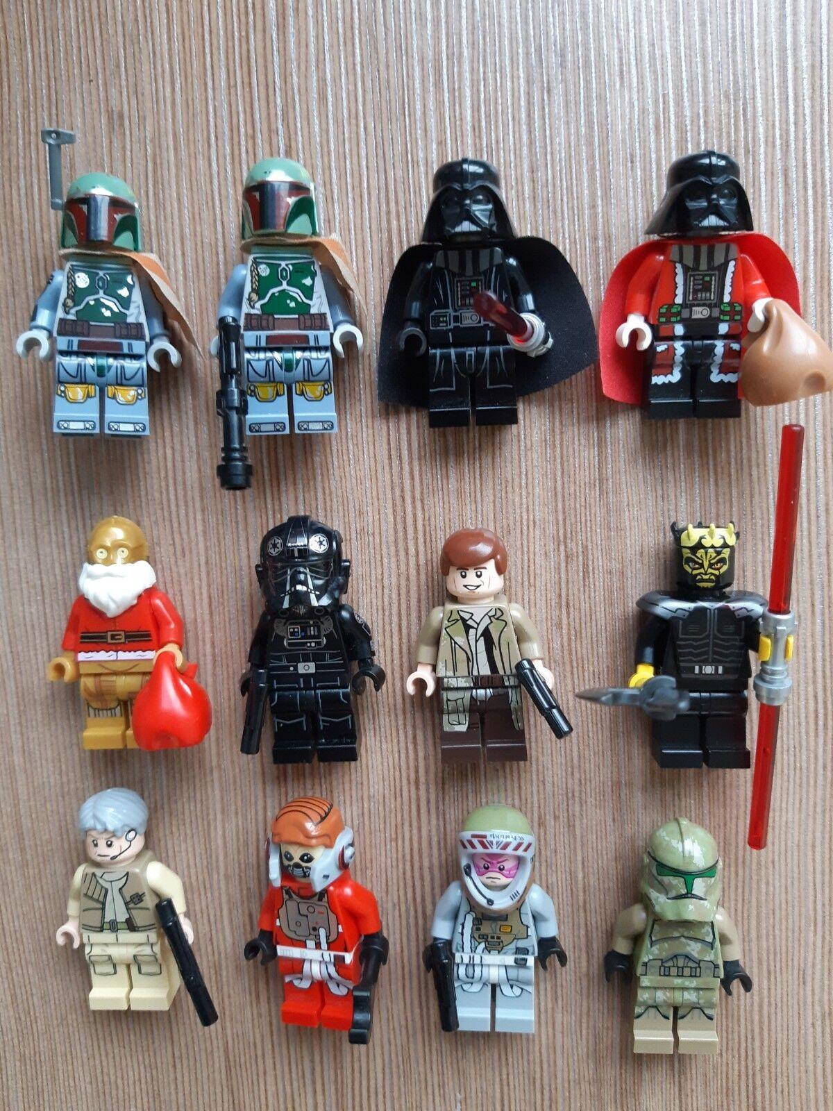 Lego star wars figurine minifigure personnage, lot à l'unité, modèle au choix