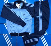 """Adidas originals 70-80-90 years tracksuit jacket and pants """"TENNIS"""" VTG for 1978"""
