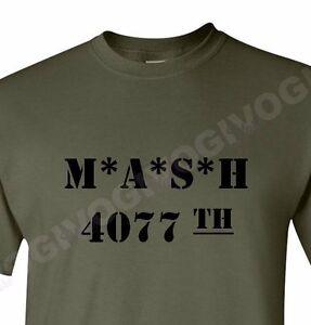616738a0 MASH 4077 th Shirt Hospital TV Show Military Army Division Vintage ...