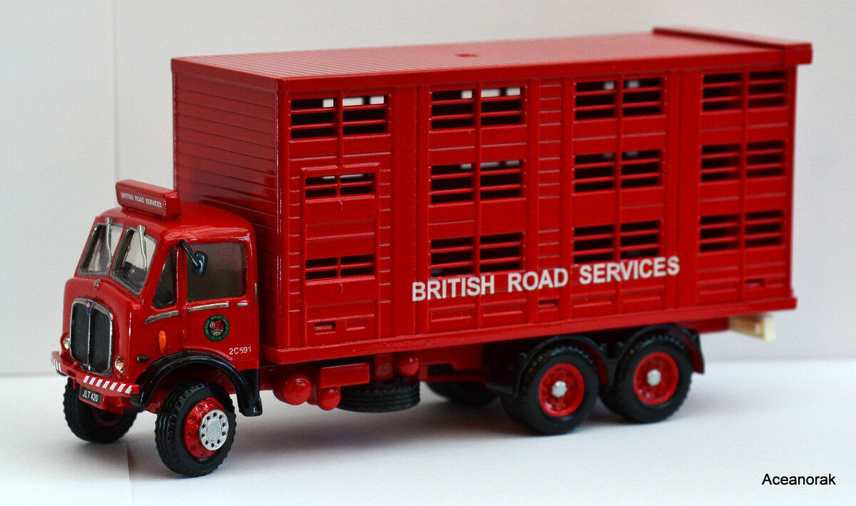 1 43rd Scale code 3 AEC bovins camion British Road Services Conversion