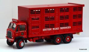 1 / 43ème échelle de code 3 Conversion de services routiers britanniques Aec Cattle Truck