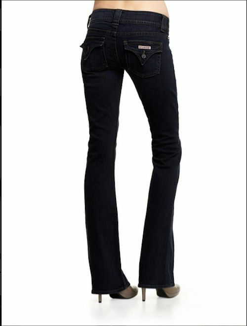 NWT HUDSON REBEL Signature Boot Cut Jeans 31 BRAND NEW  - DARK blueE  W170DHK