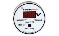 SAMLEX BW-03 2 BANK BATTERY MONITOR