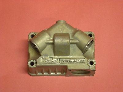 Holley Carburetor Aluminum Fuel Bowl Kit Dual Feed VACUUM SECONDARY QFT 34-107