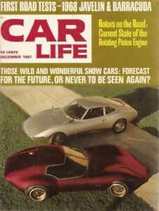 Details About Car Life  Dec Javelin Cuda Tested Ford Allegro Ii Rotary Cars