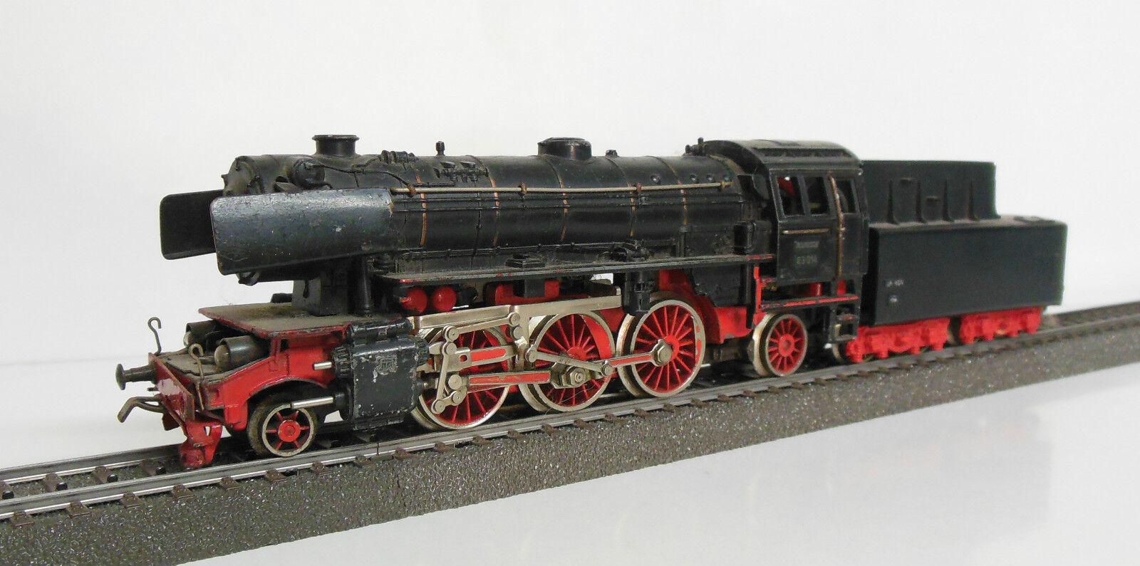 Märklin 3005-dado que 800-br 23 DB-rara versión 3 con BK 6 - 1956-para aficionados al bricolaje