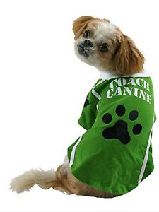 PET COSTUME FOR DOG - COACH CANINE COSTUME - XS - NEW NWT