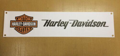 Harley Davidson Bike  enthusiasts PVC Garage banner
