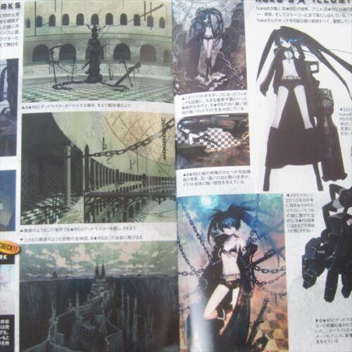 BLACK ROCK SHOOTER Art Illustration Booklet Book Ltd
