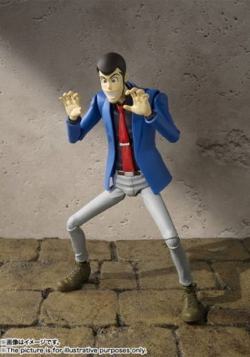 LUPIN THE THIRD FIGURA 15 CM LUPIN THE THIRD SH FIGUARTS BANDAI