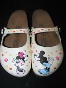 RARE! Birki's By Birkenstock Dorian Clogs Mickey Mouse And
