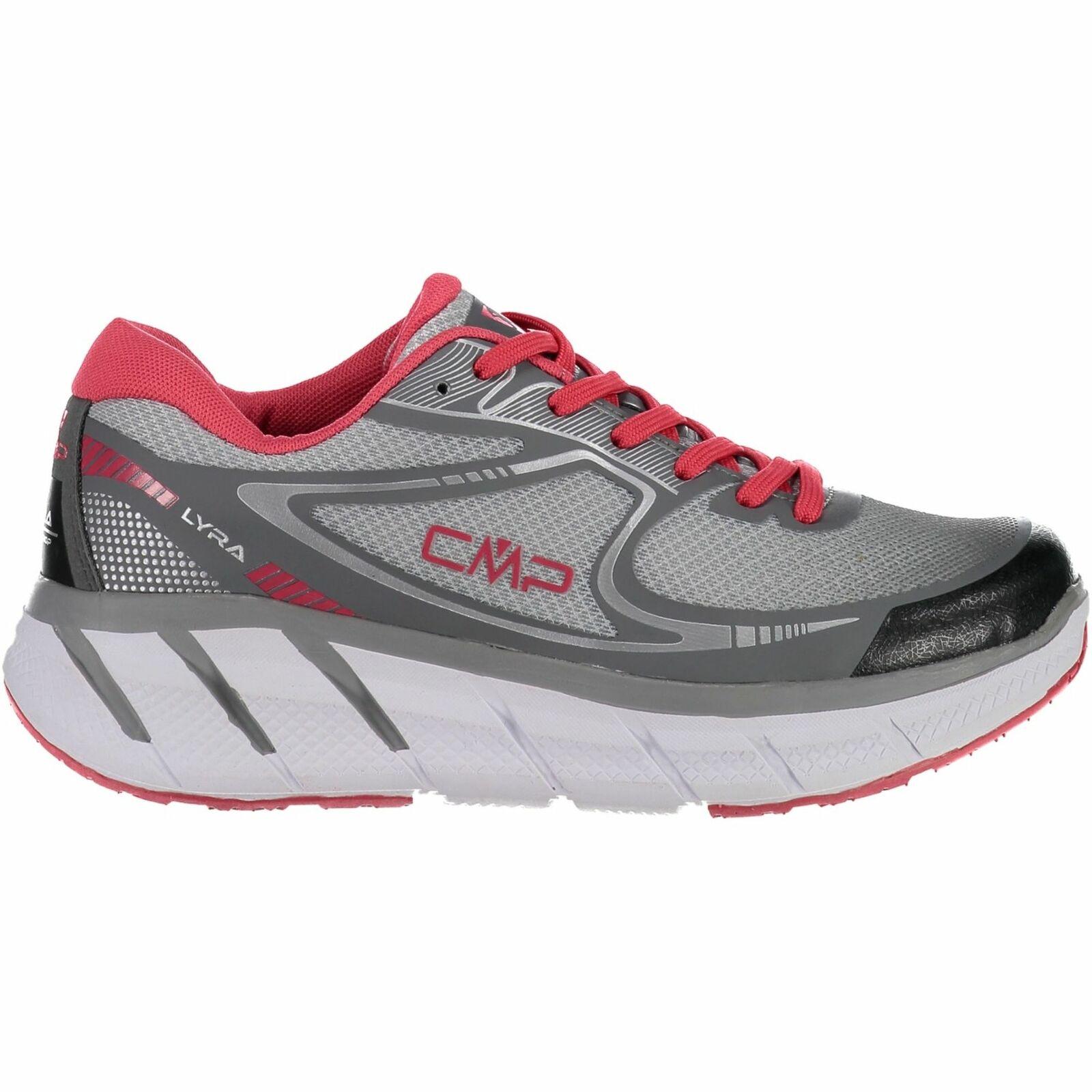 CMP zapatillas calzado deportivo Lyra maxi WMN Corriendo zapatos gris  monocromo Mesh  tienda en linea