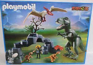 Neu playmobil dinos 5621 dino club set dinosaurier for Playmobil dinosaurios