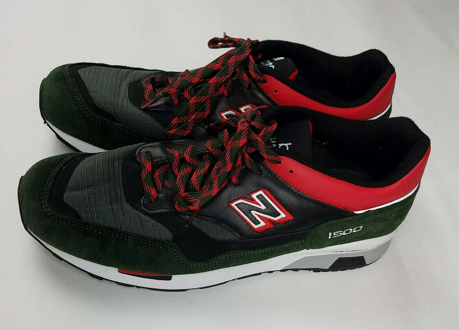 New Balance 1500 Encap Made in England Mens Black Sneakers - Size 11.5