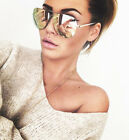 NEW QUAY X Amanda Steele Muse Gold/Pink Mirror Sunglasses