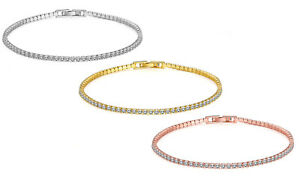 7-8-034-Tennis-Bracelet-18K-Gold-Plated-Made-with-Swarovski-Crystals-ITALY-3mm