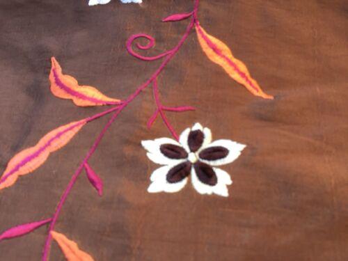 womenswear Embroidered Taffeta per metre /'Amaryllis E dress fabric