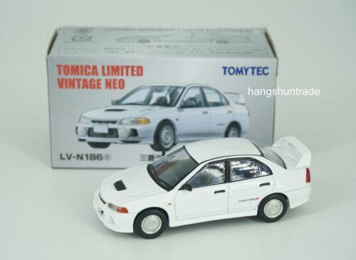 Tomytec Tomica Limited Vintage LV-N186 Mitsubishi Lancer Evolution IV Vehicle
