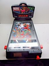 2006 Marvel Heroes 2 Player Electronic Tabletop Pinball Machine Game - Works