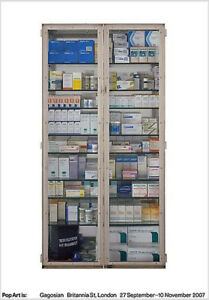 Damien-Hirst-Exhibition-Poster-MY-PROBLEM-IS-YOU-Unsigned-39x27-SOLD-OUT