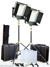 CAMTREE Studio Kit 600 LED continuous Light, Barn Doors Tripod, Photo Video Film