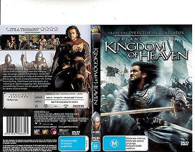 Kingdom Of Heaven 2005 Orlando Bloom Movie Dvd Ebay