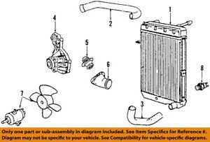 details about vw volkswagen oem 84 05 jetta engine coolant thermostat 044121113 Volkswagen Jetta 2 5 Engine Diagram