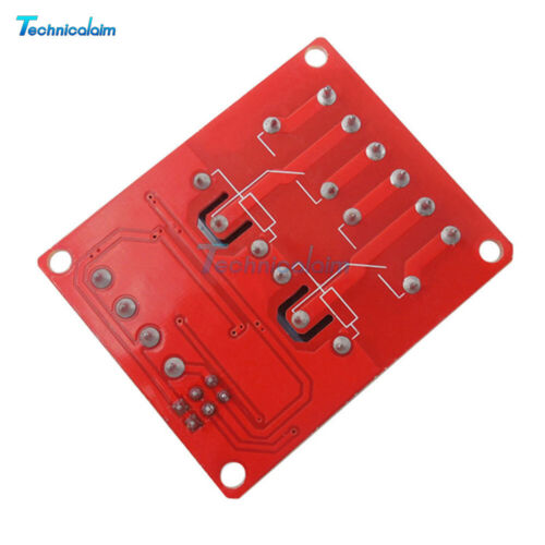 12V 2 Channel Relay With Optocoupler Support High Low Level Trigger Module