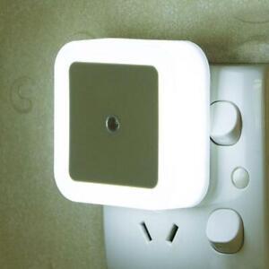 Mini Lighting Control Kids bedroom Night Lamp Light Gift Wall Sensor Plug-In LED