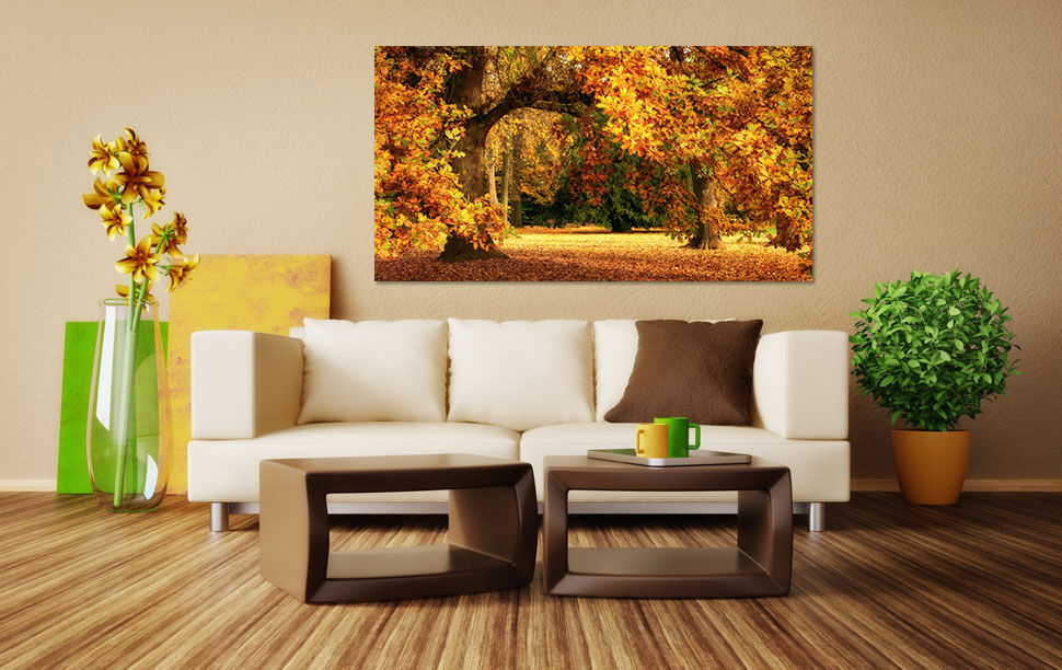 3D Gelbe grnen Baum 765 Fototapeten Wandbild BildTapete Familie AJSTORE DE